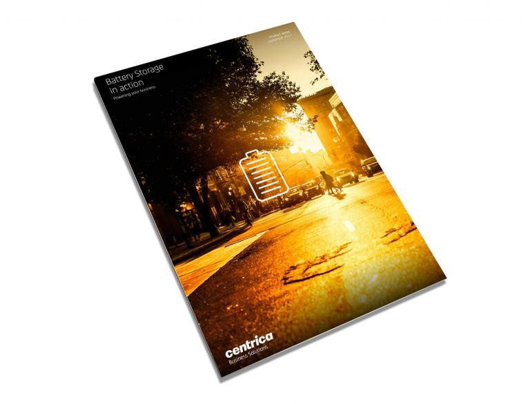 Front cover of brochure.